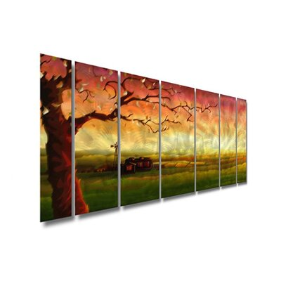 "All My Walls Abstract Tree by Ash Carl Metal Wall Art - 23.5"" x 60"""