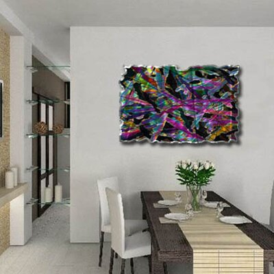 Kaleidoscopic Figures Abstract Wall Art - 23