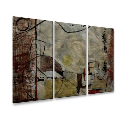 All My Walls Angular Momentum Metal Wall Art