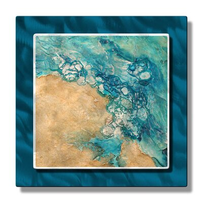 Tide Pool Rising Metal Wall Hanging
