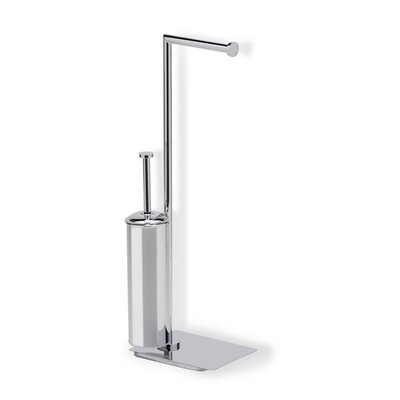 Stilhaus by Nameeks Medea Free Standing Two Function Bathroom Butler in Chrome