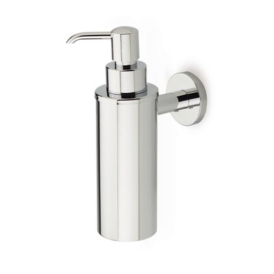 Stilhaus by Nameeks Medea Wall Mounted Round Soap Dispenser in Chrome