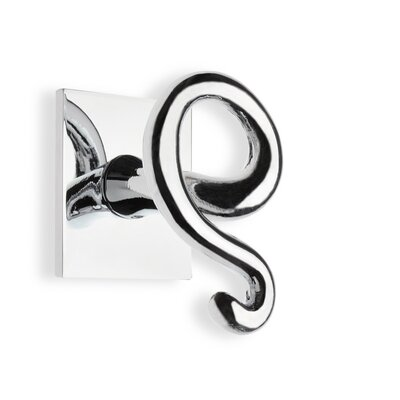 Stilhaus by Nameeks Urania Wall Mounted Double Robe Hook in Chrome