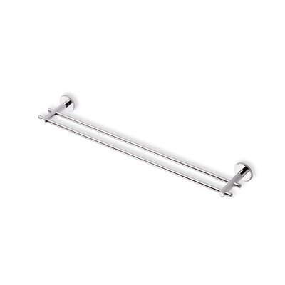 Stilhaus by Nameeks Venus 24&quot; Wall Mounted Double Towel Bar in Chrome