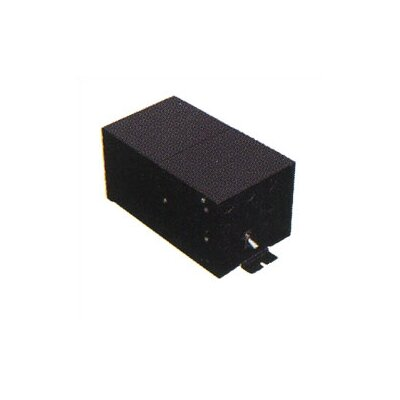 LBL Lighting Fusion Monorail 300W Remote Magnetic Transformer with Black Metal Housing - ...