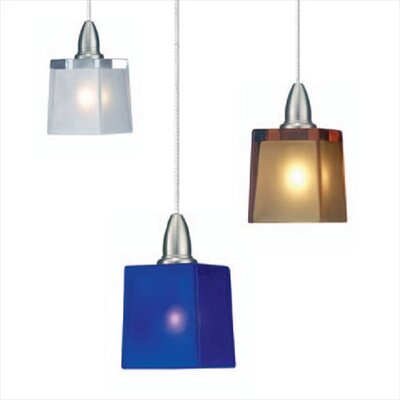 LBL Lighting Cube 1 Light Mini Pendant