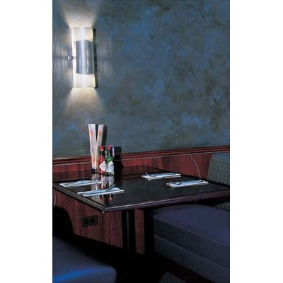 LBL Lighting Presidio 226Q Two Light Wall Sconce in Stainless Steel