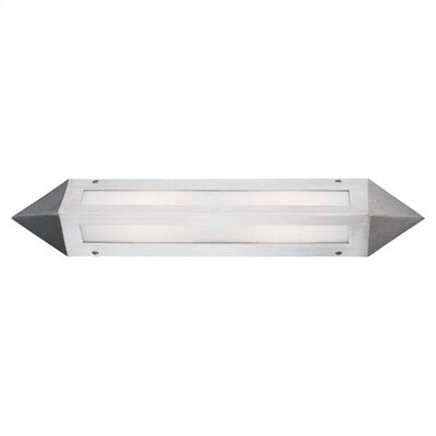 LBL Lighting Futura 36W One Light Outdoor Wall Sconce in Silver