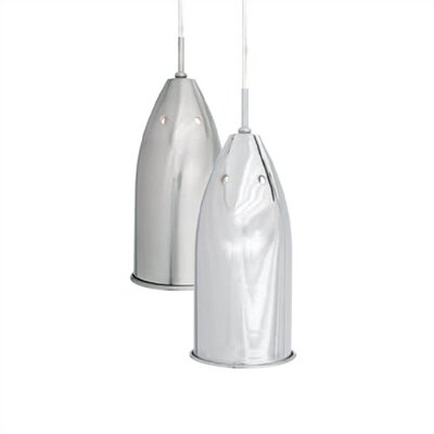 LBL Lighting Silver Bullet 1 Light Pendant