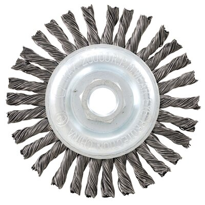 "Vermont American 4"" Industrial Wire Wheel  16835"