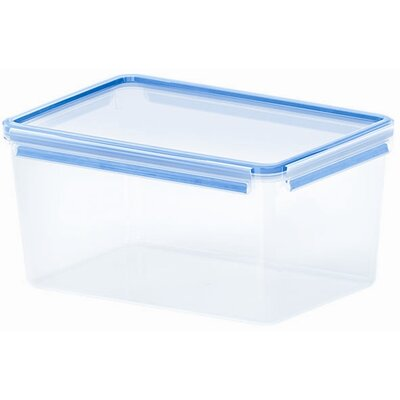 Emsa 3D Food Storage Deep Rectangular 277 fl oz Clip and Close Container