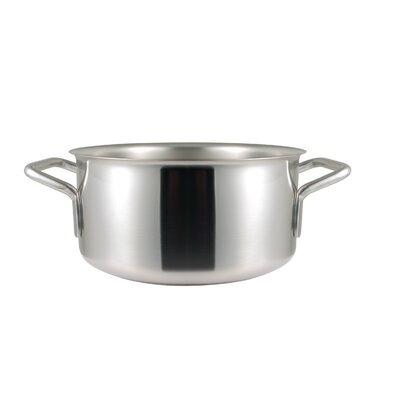 Frieling Sitram Catering 5.4 Qt. Stainless Steel Round Braiser