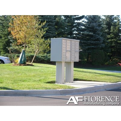 Florence Mailboxes 1565 High Security Cluster Box Units (12 Box Unit)