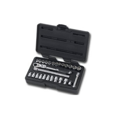 "KD Tools Pass Thru 27Pc 1/4"""" Socket Set"