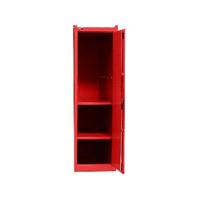 Interdynamics Side Locker W/ 2 Shelves- Red