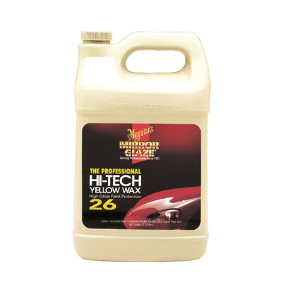 Meguiars Prof Hi Tech Yellow Wax 1Gal