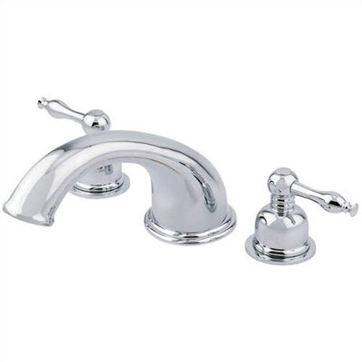 Danze® Sheridan Double Handle Deck Mount Roman Tub Faucet