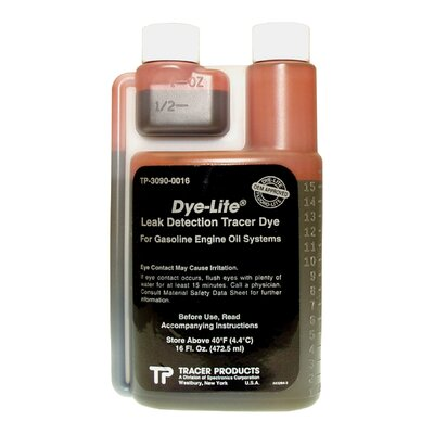 Tracer Products 16Oz Bottle Gasoline Engine Oil Dye