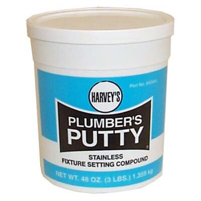 Wm Harvey Co Stainless Plumber's Putty
