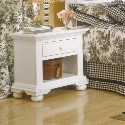American Woodcrafters Cottage 1 Drawer Nightstand