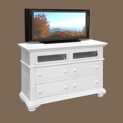 Cottage Traditions 4 Drawer Media Dresser