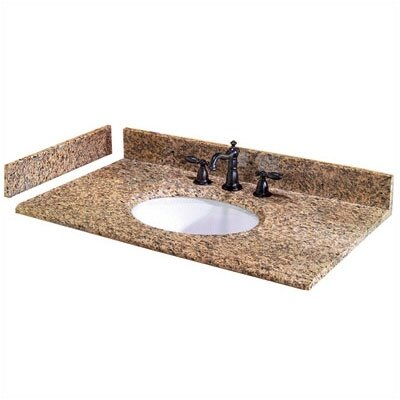 Pegasus Montesol Granite Vanity Top with Optional Side Splash