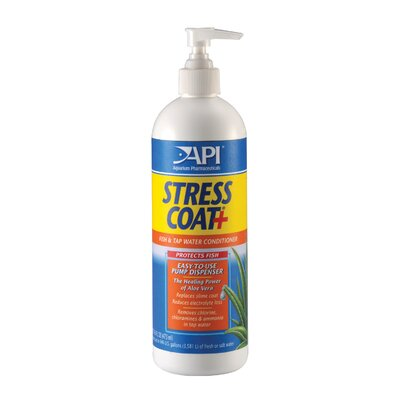 Mars Fishcare North America Stress Coat With Pump Water Conditioner - 1 Pint