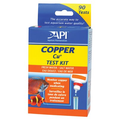 Mars Fishcare North America 90 Test Copper Water Testing Kit 65L
