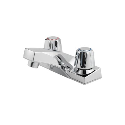 Pfirst Series Centerset Bathroom Faucet with Double Knob Handles - G-143-6000