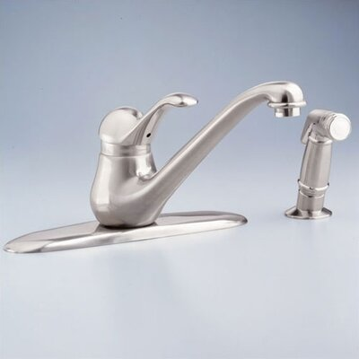 Jasmine Single Handle Centerset kitchenFaucet with Conventional Spout