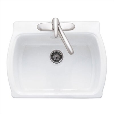 "American Standard Chandler 28"" x 22"" Americast Single Bowl Kitchen Sink"