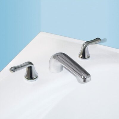 American Standard Colony Soft Double Handle Deck Mount Tub Only Faucet Metal Lever Handle