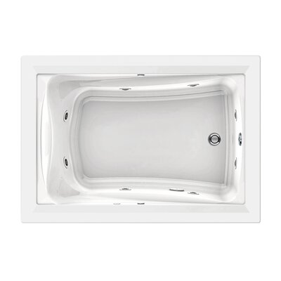 American Standard Green Tea Whirlpool Bath Tub in White