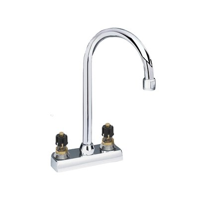 American Standard Amarilis Double Handle Centerset Bar Faucet with Less Handle and Gooseneck Swing Spout