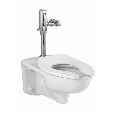 American Standard Afwall 1.28 GPF Elongated Selectronic 1 Piece Toilet