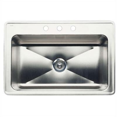 "Blanco Magnum 33"" x 22"" Large Single Bowl Drop-In Kitchen Sink"