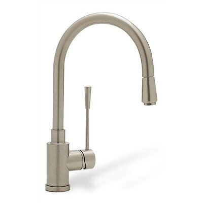 Blanco Kontrole Single Handle Single Hole Kitchen Faucet with Pull -Down Spray