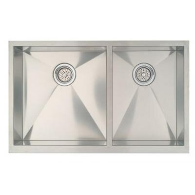 "Blanco Precision 33"" x 20.5"" Bowl Kitchen Sink with Apron"