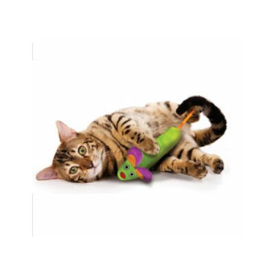 Green Magic Mightie Mouse Cat Toy