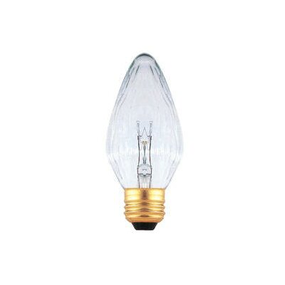 Bulbrite Industries 40W Clear Fiesta Style F15 Chandelier Bulb