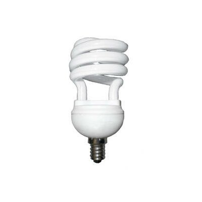 Bulbrite Industries 12W T2 Compact Fluorescent Coil Bulb in Warm White