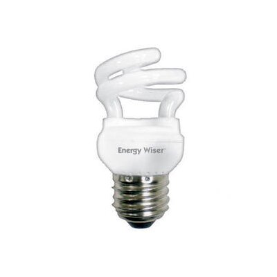 Bulbrite Industries 5W Super Mini T2 Compact Fluorescent Coil in Warn White