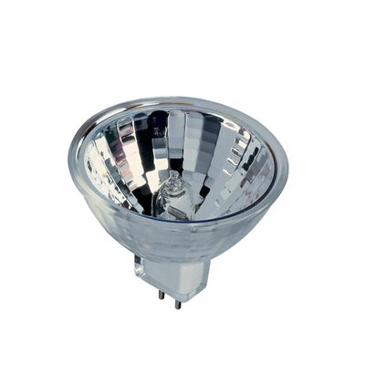 Bulbrite Industries 65W Bi-Pin MR16 Halogen Lensed Narrow Spot Bulb in Clear