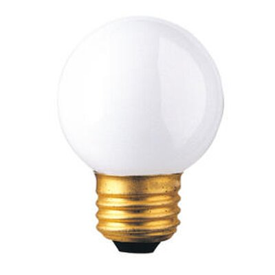 Bulbrite Industries G16 Medium Base Globe Light Incandescent Bulb
