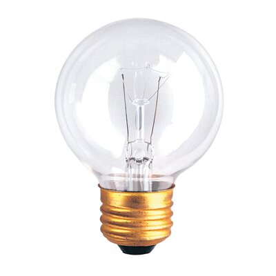Bulbrite Industries G19 Medium Base Globe Light Incandescent Bulb