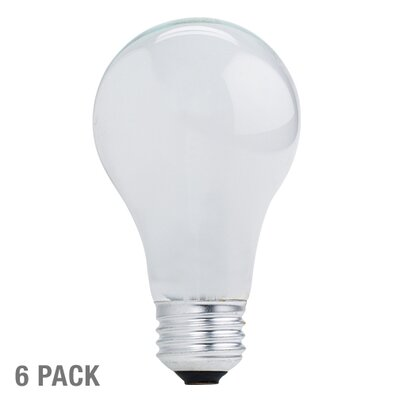 Bulbrite Industries A19 Friendly Halogen Bulb