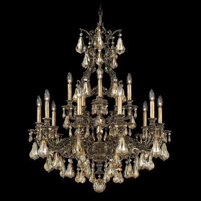 Schonbek Sophia 15 Light Chandelier