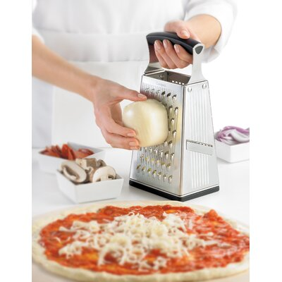 Cuisipro SGT 4 Sided Boxed Grater with Bonus Ginger Grater