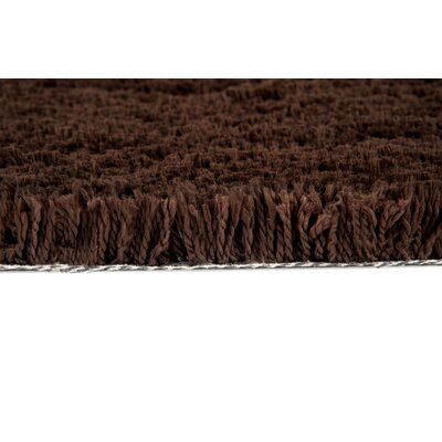 Continental Rug Company Cloud Chocolate Shag Rug