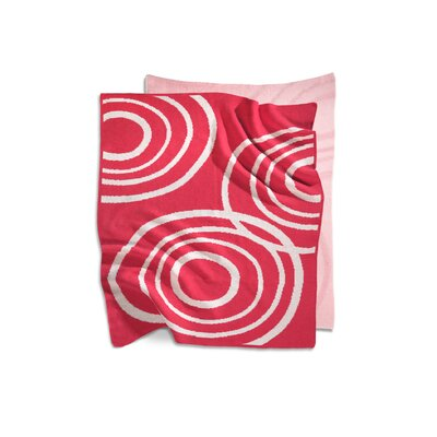 Nook Sleep Systems Organic Knit Blanket in Blossom Pink